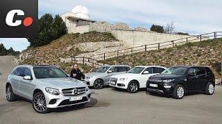 Mercedes-Benz GLC, BMW X3, Land Rover Discovery Sport, Audi Q5 | Prueba SUV 4x4 | coches.net